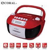 《CORAL》CD8800 手提錄音帶/CD音響 經典錄音帶播放重現(CD-8800)