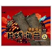 《良澔》片烤海苔-椒鹽口味(36公克/包)