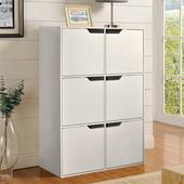 《佳嘉家》DIY布魯斯六門櫃/書櫃/置物櫃/收納櫃 -兩色選擇(白)