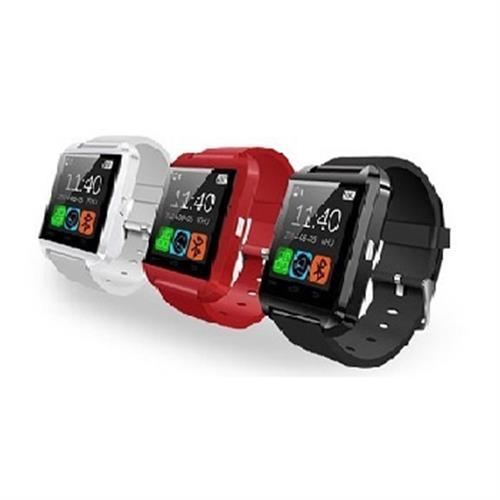 可通話智慧系統觸控式藍芽手錶 QT-01A(紅)
