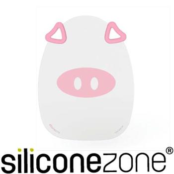 《Siliconezone》施理康耐熱粉紅小豬造型矽膠覘版