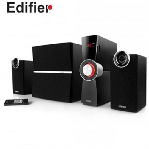 EDIFIER C2X三件式全木質喇叭