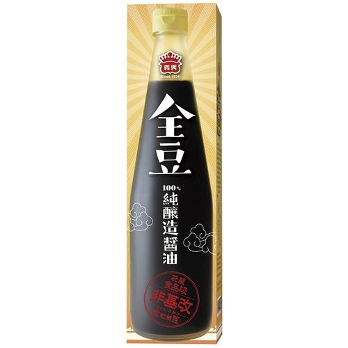 義美 全豆純釀造醬油(520毫升/盒)