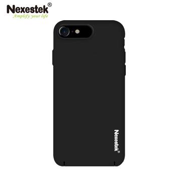 《Nexestek》Nexestek iPhone7 全包覆超薄霧黑皮革漆保護殼