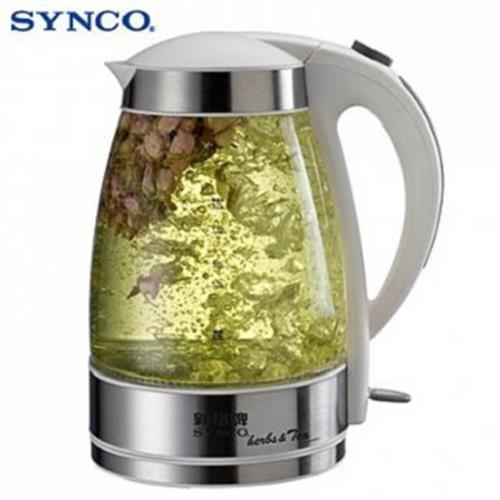新格 1.7L花茶玻璃電茶壺 SEK-1706ST