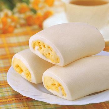 奇美 冷凍雞蛋牛奶銀絲捲(80g*6粒)