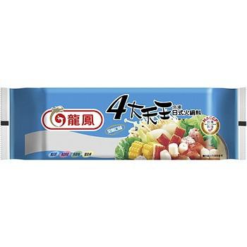 龍鳳 四大天王日式火鍋料(373g)
