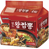 《Paldo》炒碼海鮮風味湯麵-李連福推薦(139公克*4包/袋)