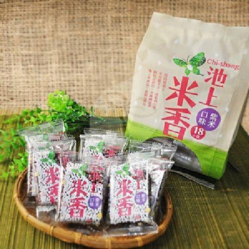 池上農會 古早味米香(紫米-180g/包)