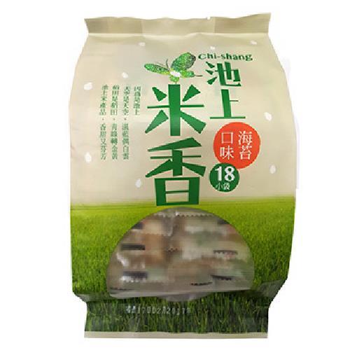 池上農會 古早味米香(海苔-180g/包)