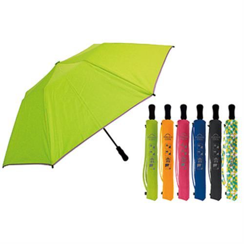 反光條升級二折傘(3.0版- 魅影灰(CP147-5))