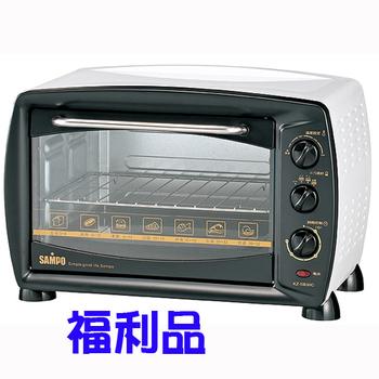 福利品 聲寶23L旋風電烤箱 KZ-SB30C