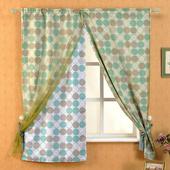 《芸佳》和風幸福遮光柔化窗簾140*160cm