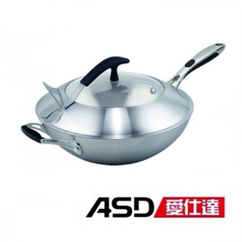 ASD愛仕達 二代多層鋼炒鍋-單把(36CM)
