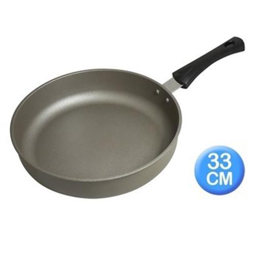 清水 星鑽奈米陶瓷不沾平煎鍋33CM-無蓋(CZ-4084)