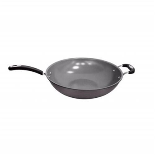法國特福多層陶瓷炒鍋加蓋32CM(C7699414)