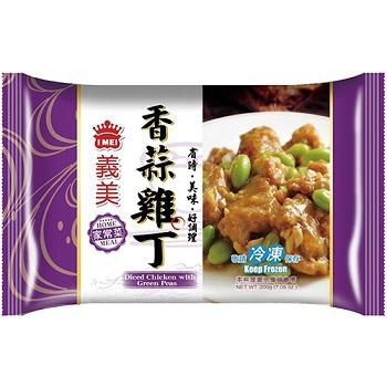 義美 義美家常菜(香蒜雞丁-200g/包)