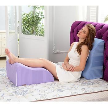 1/3 A LIFE 多功能美腿神器抬腿枕(紫色)