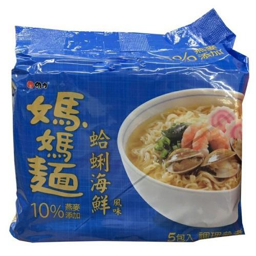維力 媽媽麵 蛤蜊海鮮風味(80g*5入)