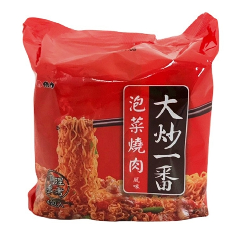 《維力》大炒一番 泡菜燒肉風味(85g*4入)