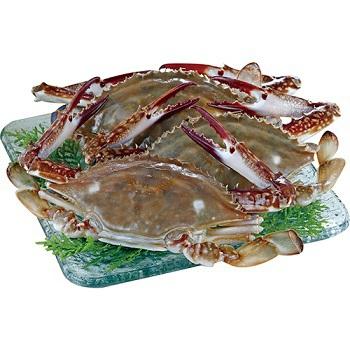 活凍三點蟹(100~150克 / 隻)