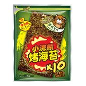 《小浣熊》烤海苔(醬燒原味-50g/包)