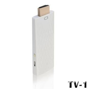 長江 TV-1 無線影音分享器 / 智慧電視棒(系統自動切換)(白色)