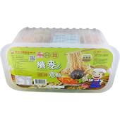 《吉好》意麵 360g/6入盒裝(香菇鮮蔬 纖麥意麵)