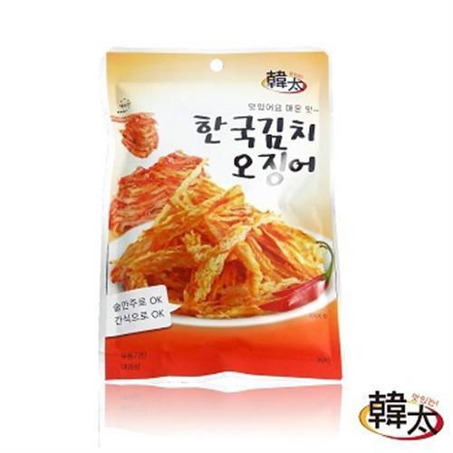 韓太 韓國魷魚腳(泡菜魷魚絲-23g/包)