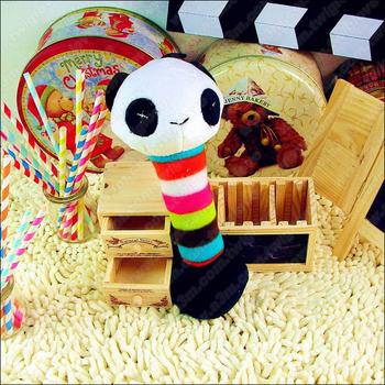 《Petcircle》熊貓啞鈴布偶玩具