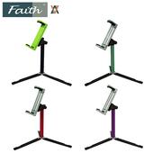 《Faith》Faith 輝馳 TS café 平板支撐腳架(含平板夾)(黑)