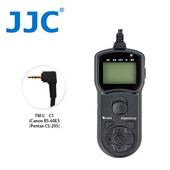 《JJC》TM-C 液晶定時快門線 C1(相容 Canon RS-60E3/Pentax CS-205)