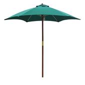 《大傘王》【大傘王】7.5 呎6骨庭園玻纖木傘(WFFO-3204墨綠)