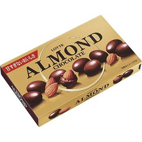 LOTTE Almond烘焙杏仁巧克力球