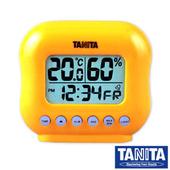 《TANITA》電子式溫溼度計(mini款)(橘色)