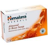~印度 Himalaya~喜馬拉雅保濕香皂~杏仁玫瑰 125g~3 組