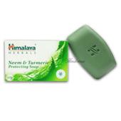 《印度 Himalaya》喜馬拉雅抗菌苦楝樹薑黃皂(125g*3/組)