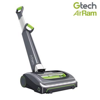 英國 Gtech 小綠 AirRam 第二代長效無線吸力不衰弱吸塵器(金屬灰)