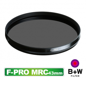 B+W F-Pro (S03) CPL 43mm 環型偏光鏡 多層鍍膜 MRC (捷新公司貨)
