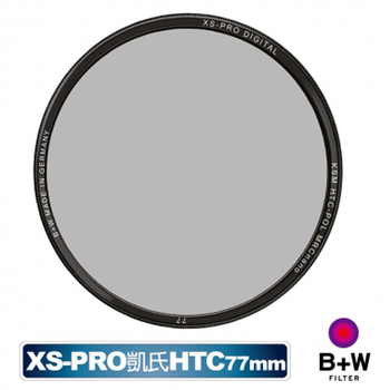 B+W XS-PRO HTC KSM 77mm CPL 高透光 凱氏 環形偏光鏡 超薄 濾鏡