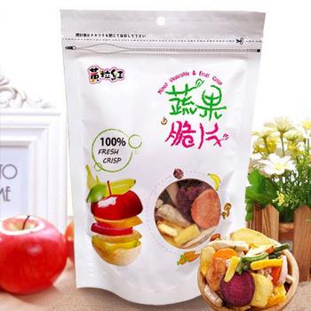黃粒紅 健康蔬果脆片150g