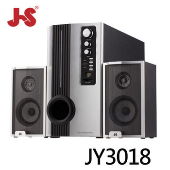 JS 淇譽 JY3018 三件式 2.1 聲道全木質多媒體喇叭(JY3018)