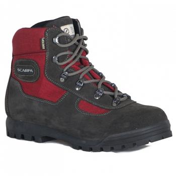 義大利Scarpa LITE TREK GORE-TEX 60023高筒登山鞋 紅 #SP60023(EU37)