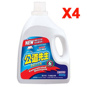 《妙管家》公道先生濃縮洗衣精4400g*4瓶