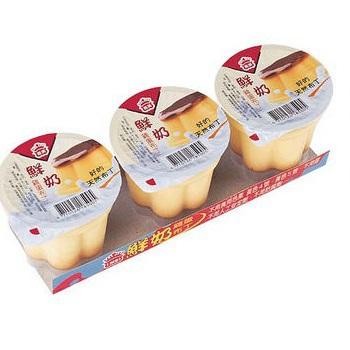 義美 鮮奶雞蛋布丁(100g*3)