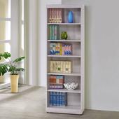 《Homelike》蘭琪2尺開放書櫃(白栓木紋)