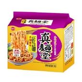 《味丹》真麵堂 香辣風味乾麵(90g*4入/袋)