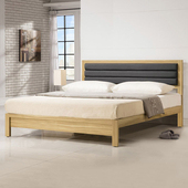 《Homelike》岱爾床架組-雙人加大6尺(不含床墊)