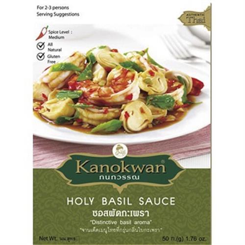 Kanokwan 泰式打拋羅勒醬(50g)