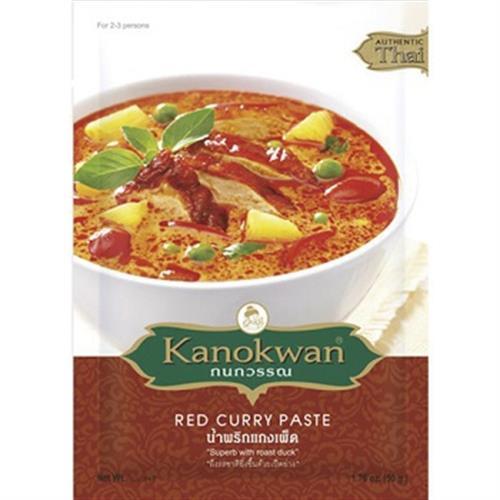 Kanokwan 泰式紅咖哩醬(50g)